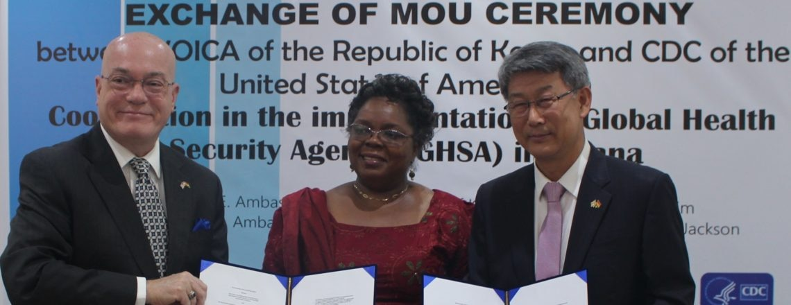 USA and Republic of Korea Partner with Ghana for Health