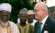 Ambassador Jackson with National Chief Imam