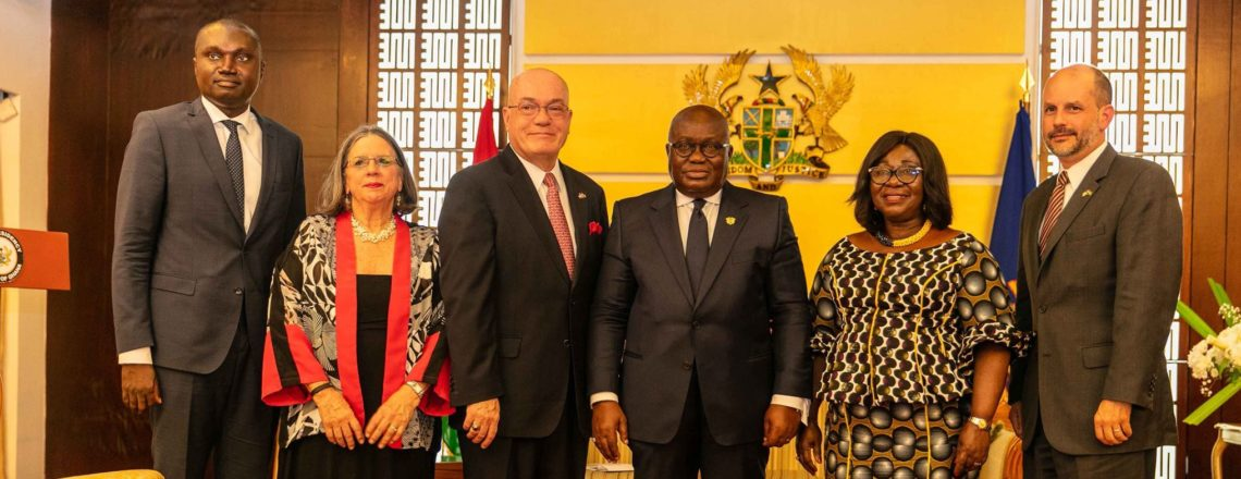Ambassador Robert Jackson Ends His Duty Tour of Ghana
