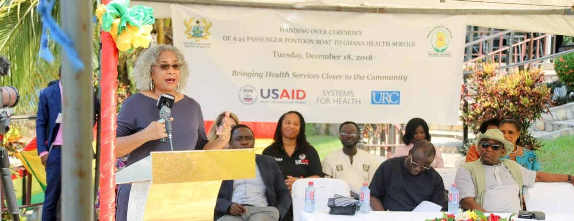 USA Increases Access to Health Services to Volta Region Island Communities