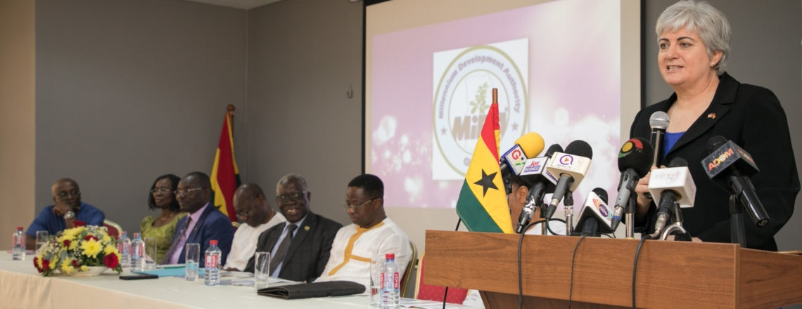 Amb. Sullivan Reaffirms the U.S.' Commitment to Support the Ghana Beyond Aid Agenda