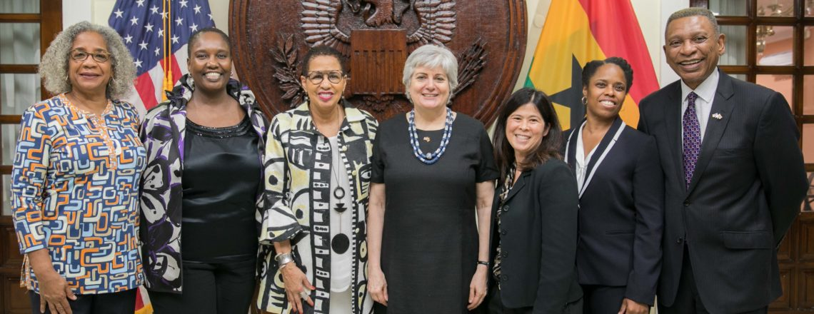 Amb. Sullivan host Reception to Honor Judge Williams and Ghanaian Justice Sector Leaders