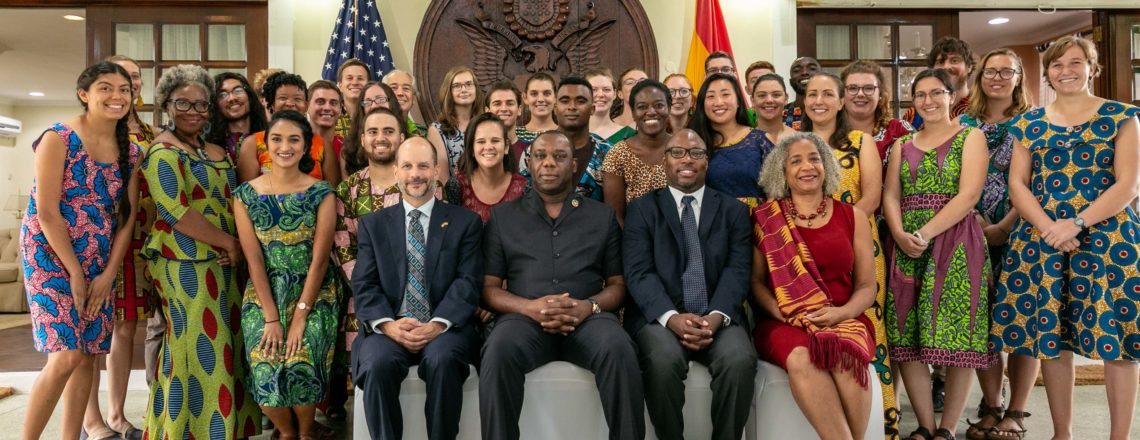 Peace Corps Ghana Swears in 33 Education Volunteers