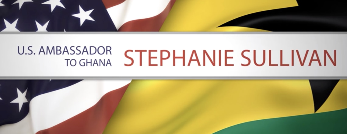 Watch this video to learn more about Ambassador Stephanie S. Sullivan